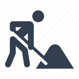 construction, man, person, renovation, repair, worker, working icon