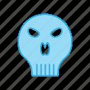 body, face, skeleton, skull