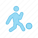 ball, basketball, foot, on, player, sportsman