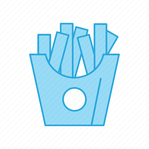 French, fries, potato icon - Download on Iconfinder