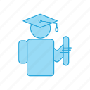 education, graduate, graduation