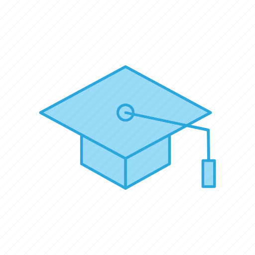 education, graduation, hat icon