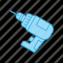 drill, hand, tool
