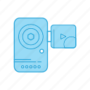 cam, camcorder, camera, handy, photo, photography icon