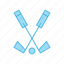 hockey, sports, stick icon