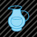 food, jug, milk icon