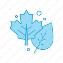 ecology, leaves, nature, salad icon