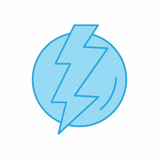 Forecast, lightening, weather icon - Download on Iconfinder