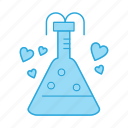 chemistry, flask, love, potion