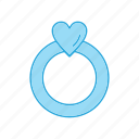 engagement, love, marriage, proposal, ring icon