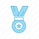 award, gold, medal, premium, rank, star