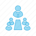corporate, meeting, room icon