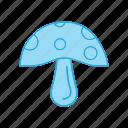 amanita, ingredient, food, mushroom