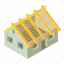 building, city, construction, industry, isometric, object, site
