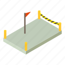 building, construction, foundation, industry, isometric, object, site