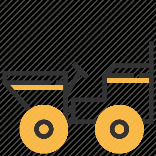 car, construction, dumper, truck icon