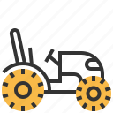 car, construction, mini, tractor, transport icon