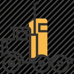 car, construction, delivery, semi, truck icon