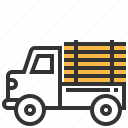 car, construction, delivery, transportation, truck icon