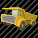 building, dump, heavy, hopper, tipper, traffic, truck