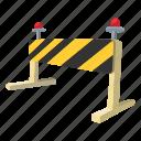 barrier, closeup, gate, lock, solid, street, traffic