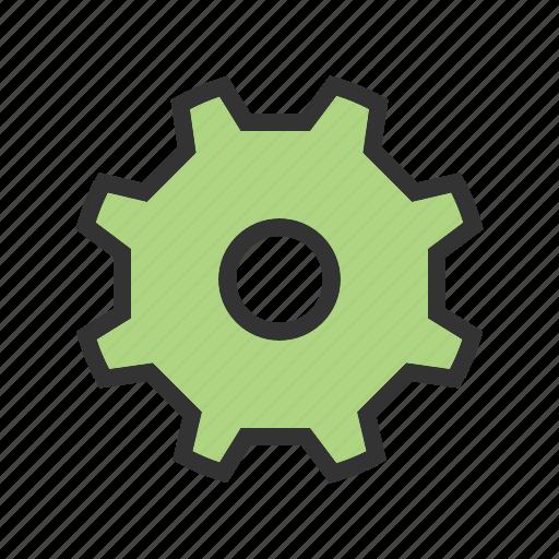 cogs, gear, mechanical, progeress, technical, wheel, work icon