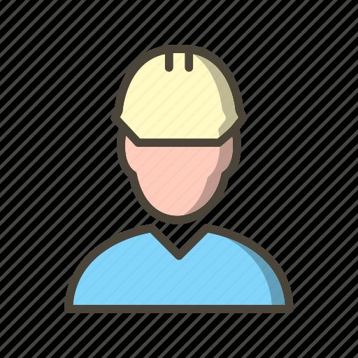 employee, engineer, user, worker icon