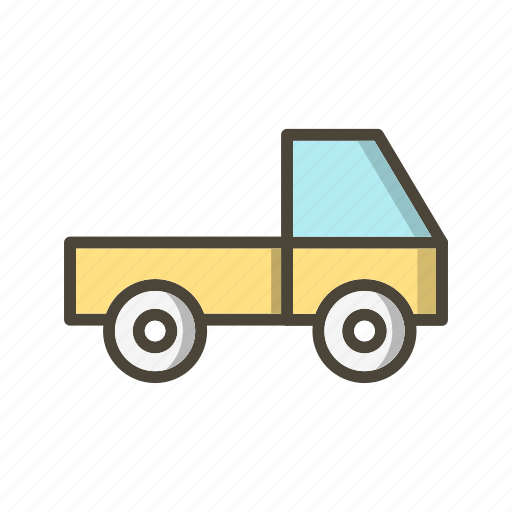 delivery, loader, logistic, van icon