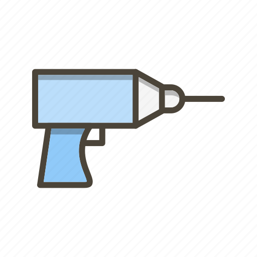 Drill, machine, tool icon - Download on Iconfinder
