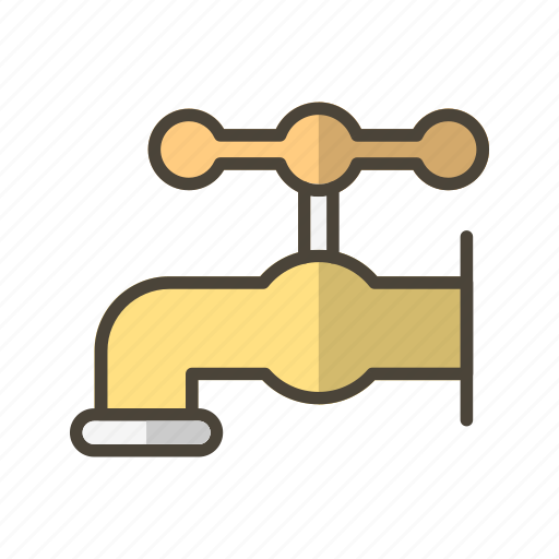 supply, tap, water, watertap icon