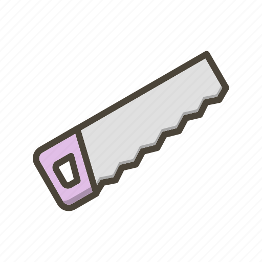 blade, hand saw, saw icon