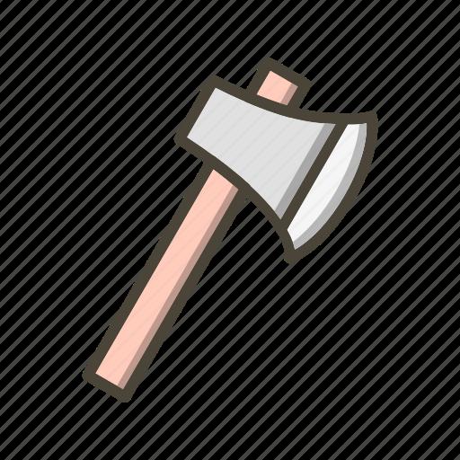axe, cut, cutting, tool icon