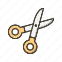 barber, cutting, edit, eidt, scissor icon