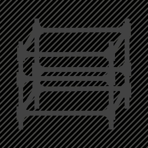 architecture, building, construction, design, exterior, scaffolding, steel icon