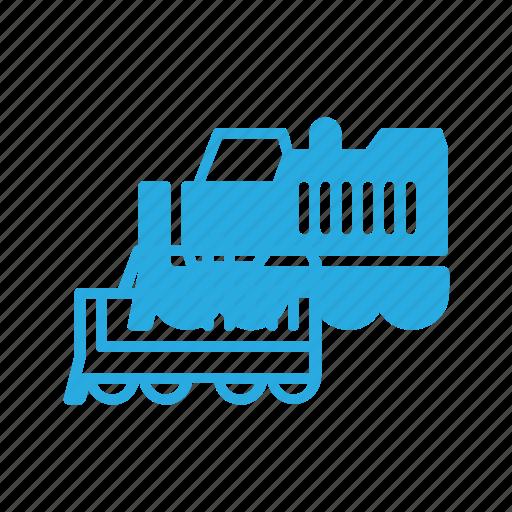 construction, industry, locomotive, shipping, tranportation icon