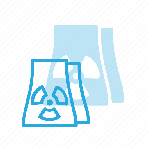 construction, industry, nuclear, silo icon