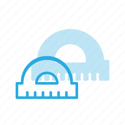 angle, construction, industry, protractor, tool, tools icon