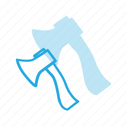 axe, construction, industry, tool, tools icon