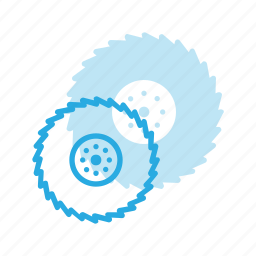 construction, cutting, disc, industry, tool, tools icon