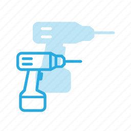 construction, drill, industry, tool, tools icon