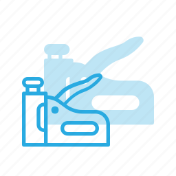 construction, industry, stapler, tool, tools icon