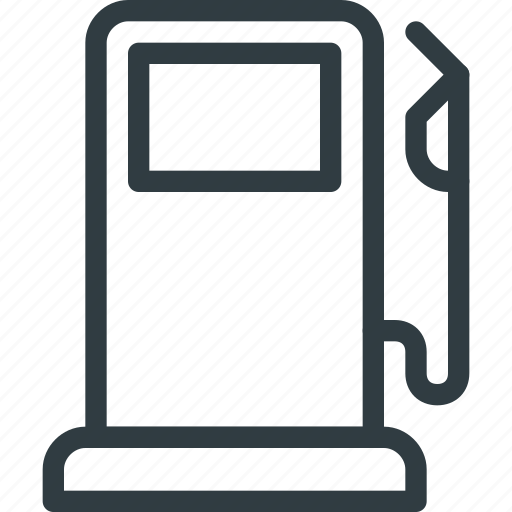 fuel, gas, station, transportation icon