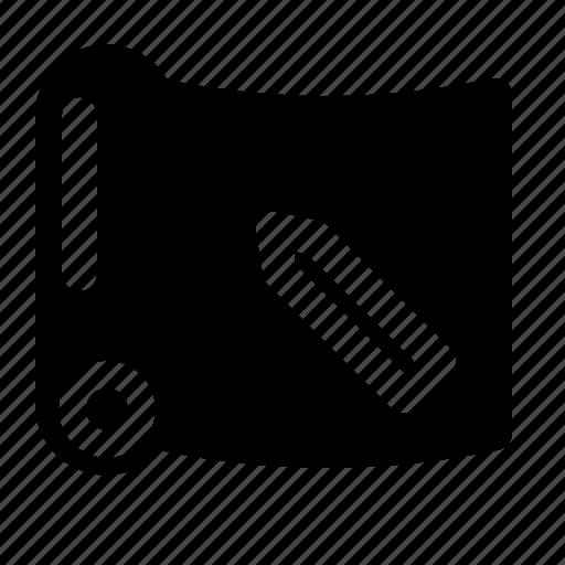 blueprint, design, script, sketch icon