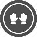 construction, gloves, work, working icon
