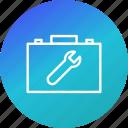 box, tool, tools, work icon