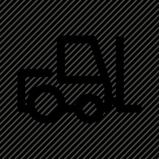 box, items, machine, vehicle icon