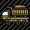 and, automobile, construction, dump, tools, transportation, truck