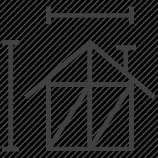 building, construction, design, house icon