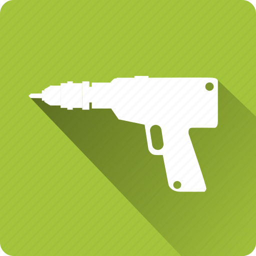 building, construction, drill, installation, mounting, tool icon
