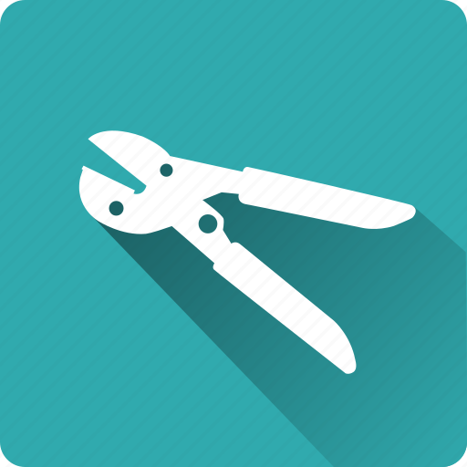 building, construction, installation, mounting, nippers, tool icon